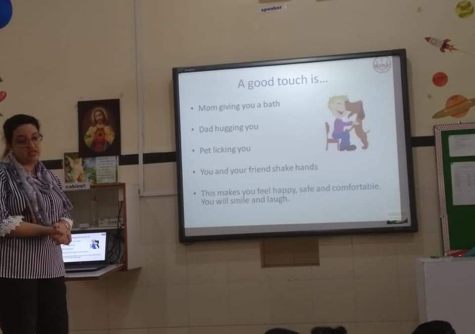 Workshop-Good Touch and Bad Touch
