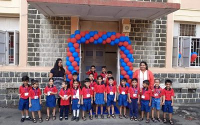 First day for Grade1 & K2