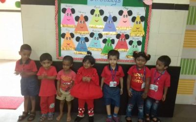 Nursery- red day