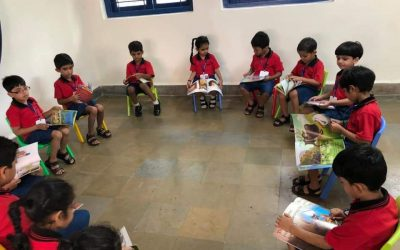 K2- Reading in the library