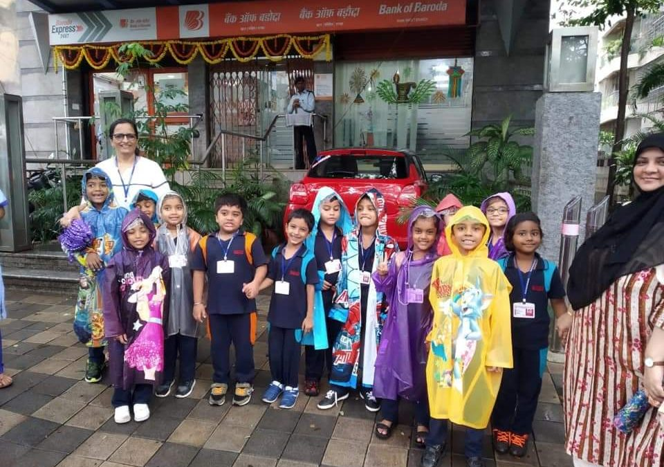 Grade 1- Visit to the Bank