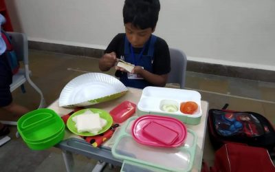 Grade 1- Life Skills- Learning to be Independent- Sandwich Making