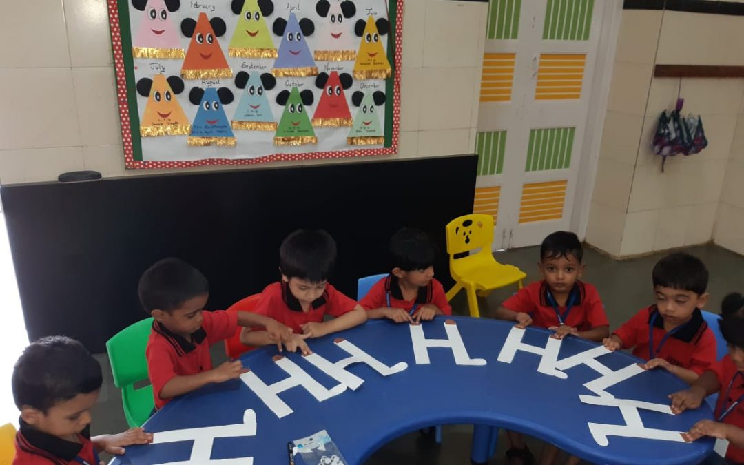 Nursery- Letter H – Craft activity